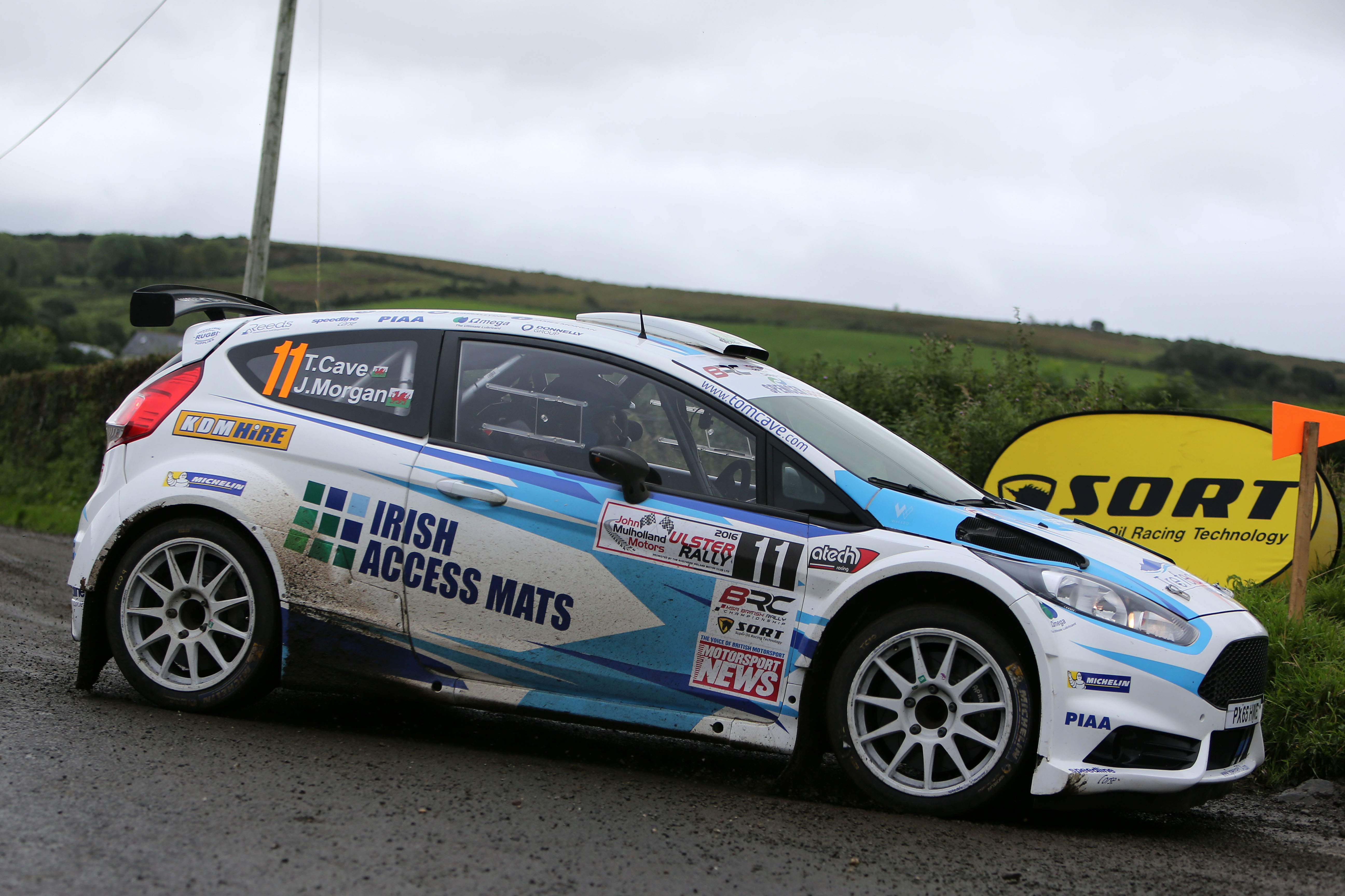 Tom fights back to take top-ten result in Ulster | Welsh Rally ...